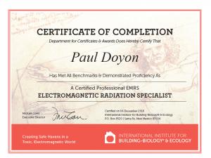 About Paul Emrs Building Biologist Bay Area